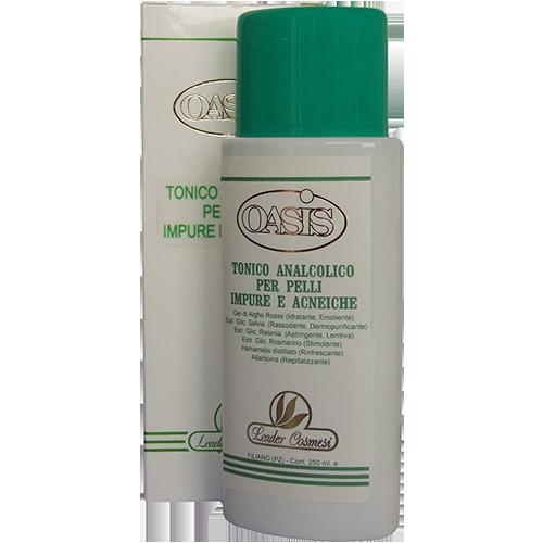 Tonico analcolico per pelli impure ed acneiche 250 ml