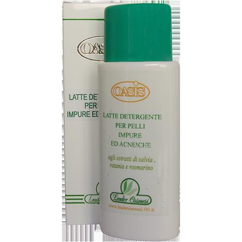 latte detergente per pelli impure ed acneiche 250ml